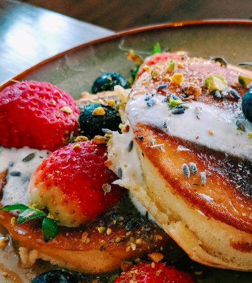 Recette : american pancakes aux fraises