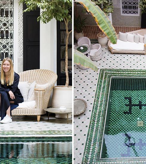 Marrakech: rencontre avec le duo derrière l'iconique Riad Yasmine