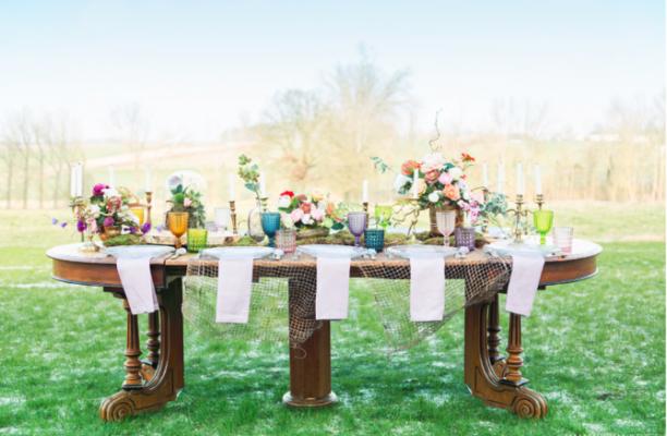 Mariage : 4 conseils pour réaliser une table d'honneur à son image 150*150