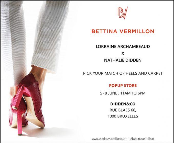 Bettina Vermillon x Didden&Co, le pop-up store mode et déco à ne pas louper - 1