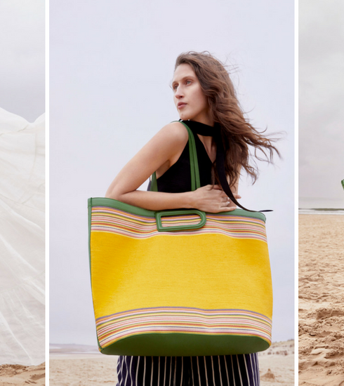 Crush of the day: le sac de plage Delvaux D to D