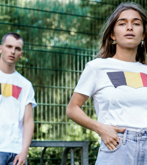 Crush of the day: le t-shirt Levi's aux couleurs de la Belgique