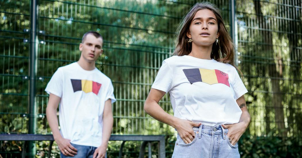 Crush of the day: le t-shirt Levi's aux couleurs de la Belgique