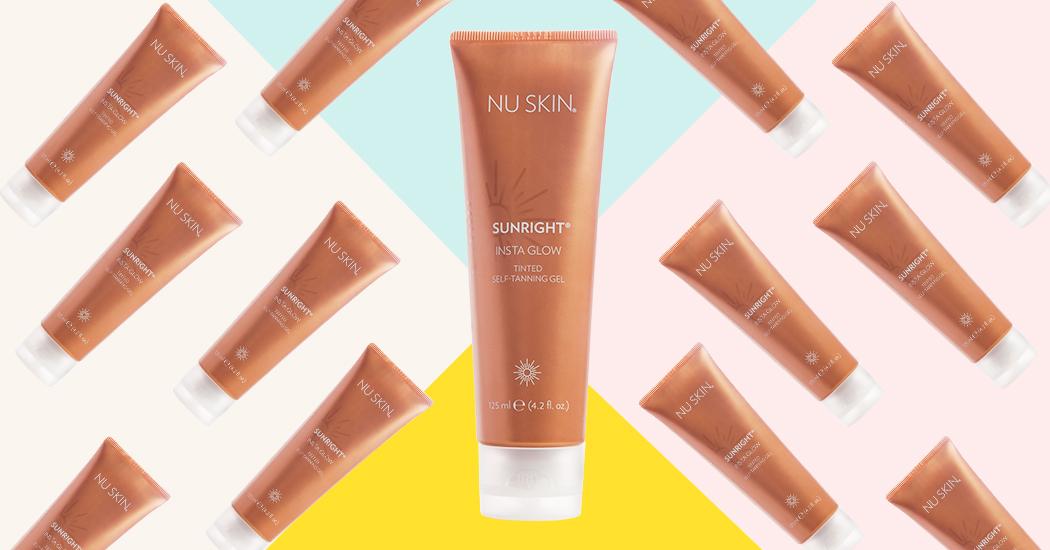 Crush of the day: Sunright Insta Glow, le nouveau gel teinté autobronzant de Nu Skin