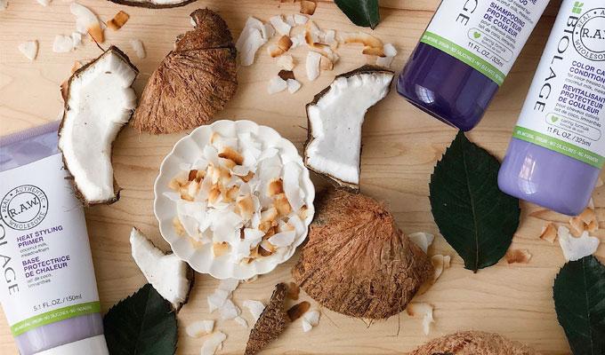 soins noix de coco