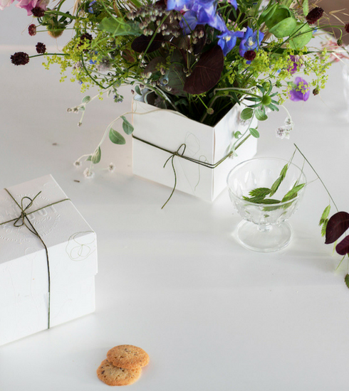 Crush of the day: la Flower Box Maison Dandoy x Thierry Boutemy