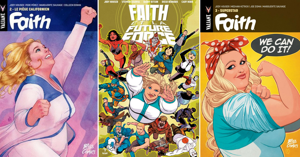 Qui est Faith Herbert, première super-héroïne «grande taille» de l'univers cinématographique?