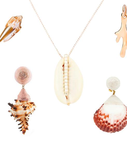 Tendance de l'été: des bijoux coquillages
