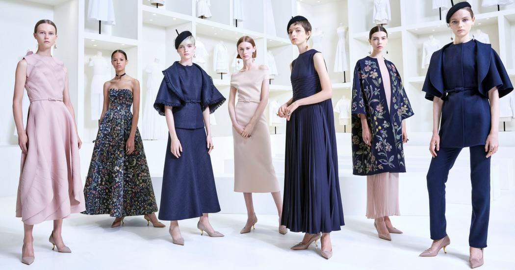 En images: les looks du défilé Dior Haute Couture Automne-Hiver 2018-2019
