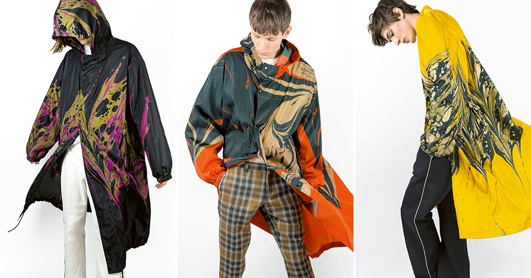 Crush of the day: la collection exclusive d'impérméables de Dries Van Noten