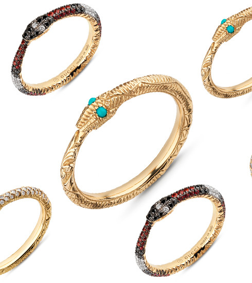 Crush of the day: la ligne de joaillerie Gucci Ouroboros