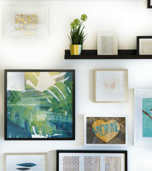 Déco : 4 conseils pour réaliser votre mur de cadres