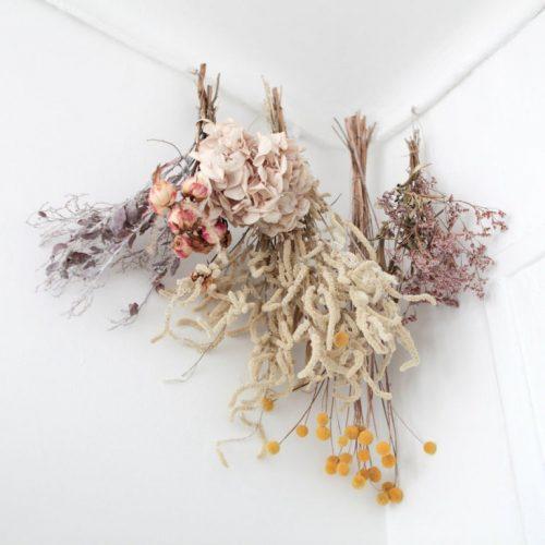 6 idées déco pour introduire les fleurs séchées dans son intérieur - 3