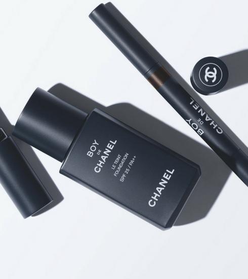 Chanel lance BOY, sa première collection de maquillage pour hommes