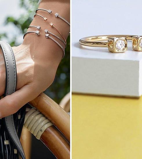 Crush of the day : la collection Le Cube Diamant de Dinh Van