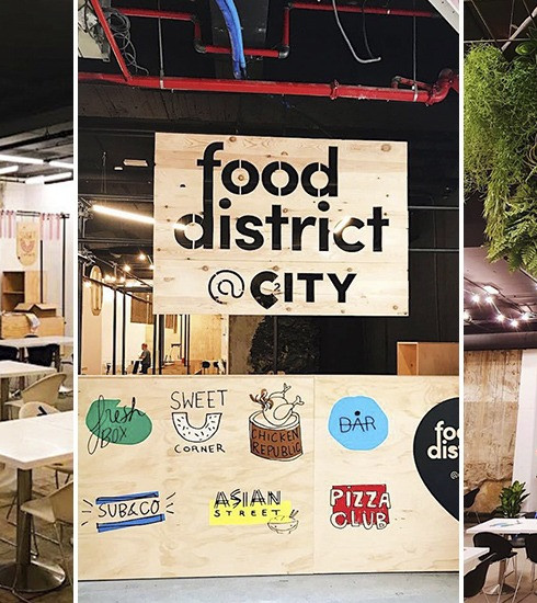 Food District: Bruxelles a enfin son food court