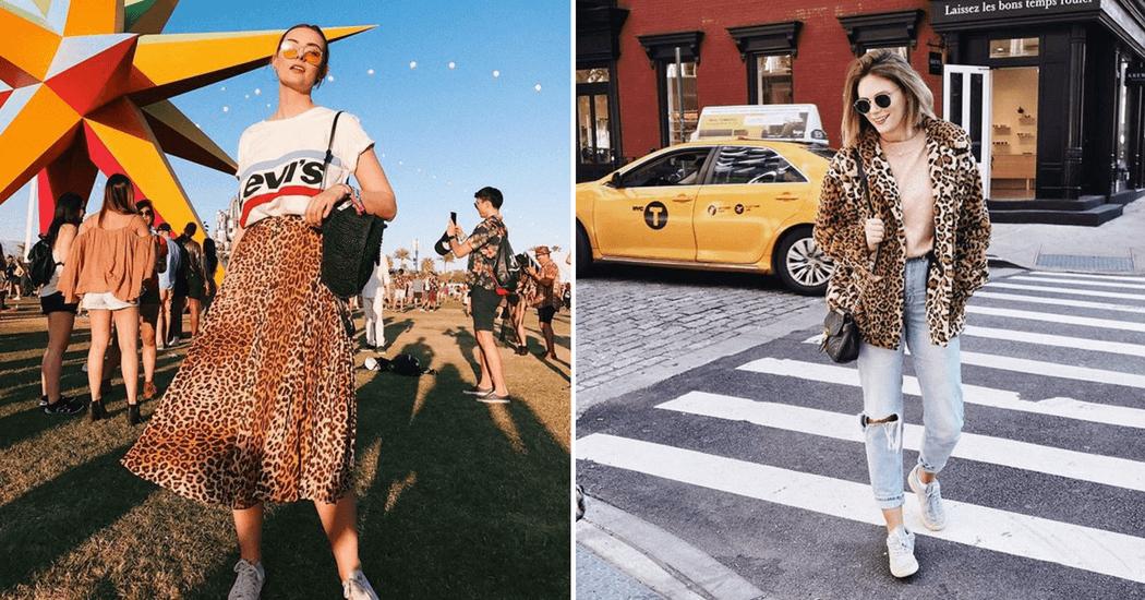 Tendance automne-hiver 2018: notre shopping spécial imprimé léopard