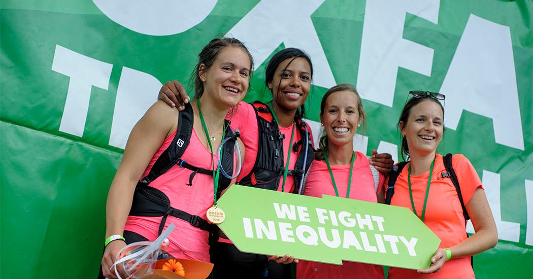 Oxfam Trailwalker: une onzième édition contre les inégalités extrêmes