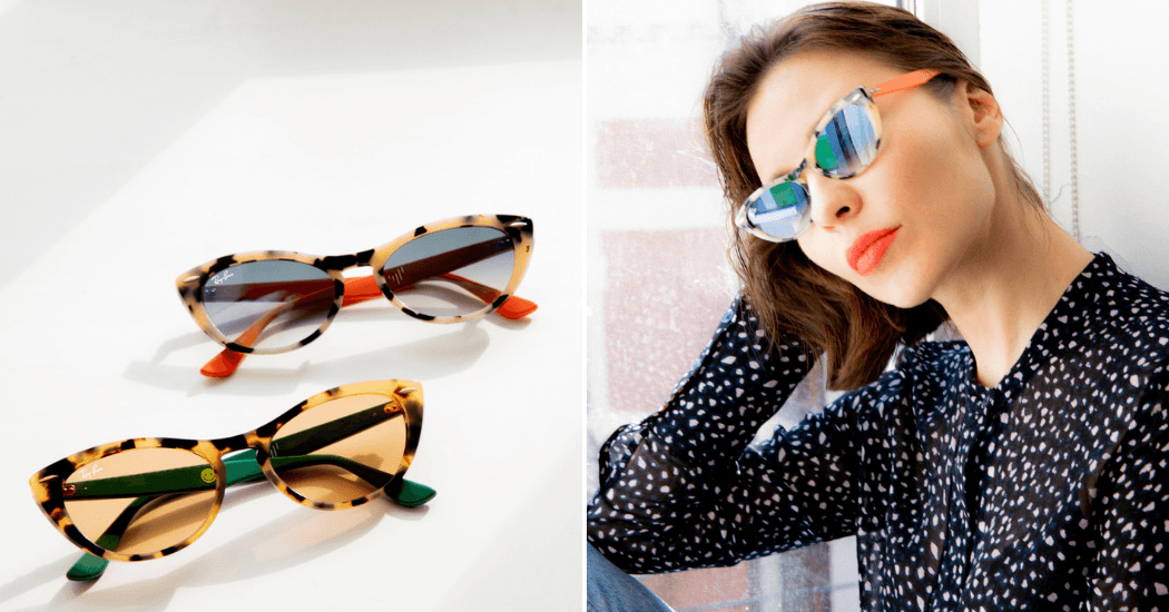 Crush of the day  Ray-Ban Studios lance une collection capsule avec Nina  Kraviz - Marie Claire 0216ff9bf97a