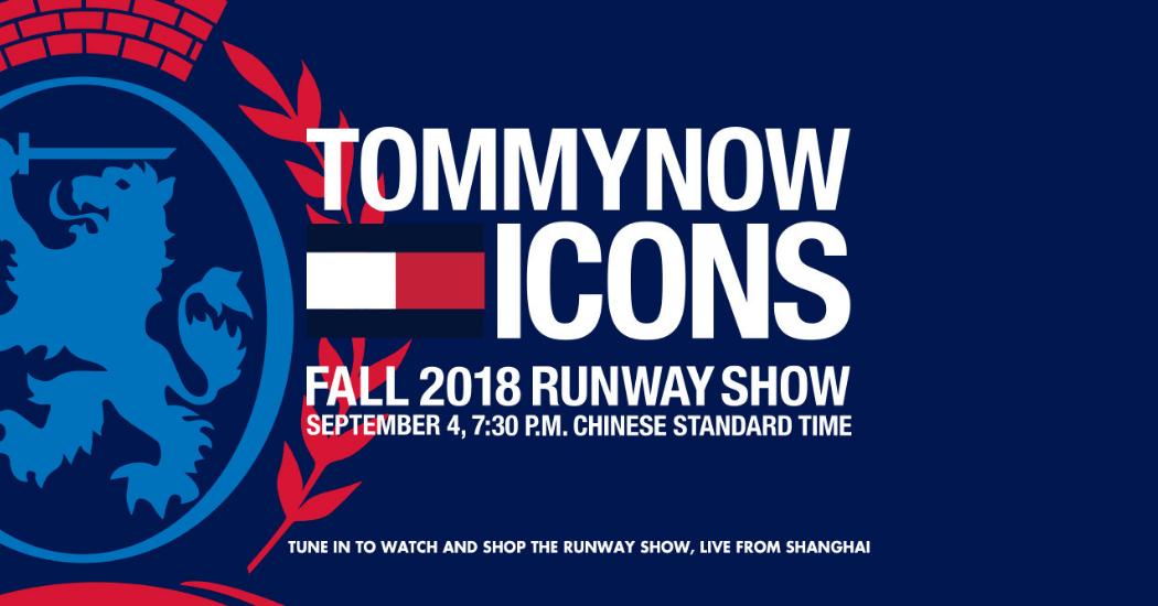 TOMMYNOW ICON: découvrez en live le défilé Tommy Hilfiger FW18