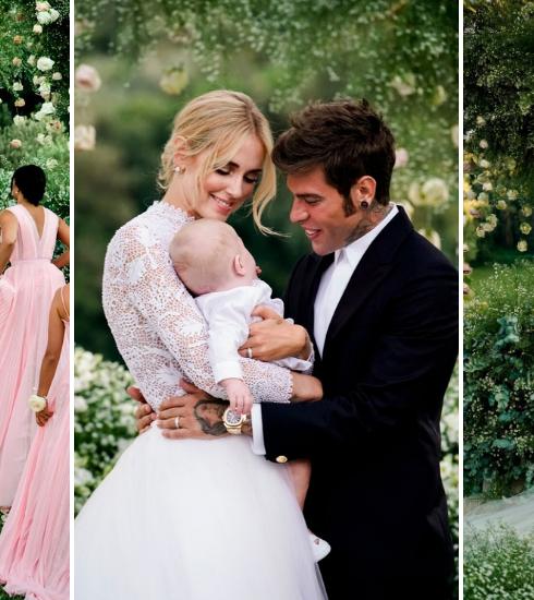 En images: le mariage de Chiara Ferragni et ses robes à couper le souffle