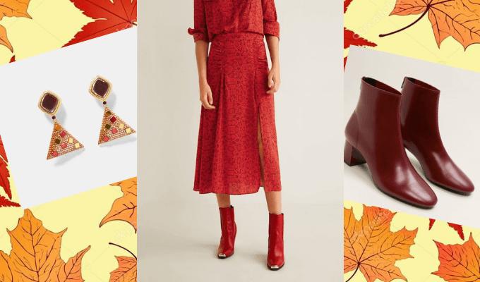 Shopping automne : notre sélection aux couleurs chaudes - Marie Claire