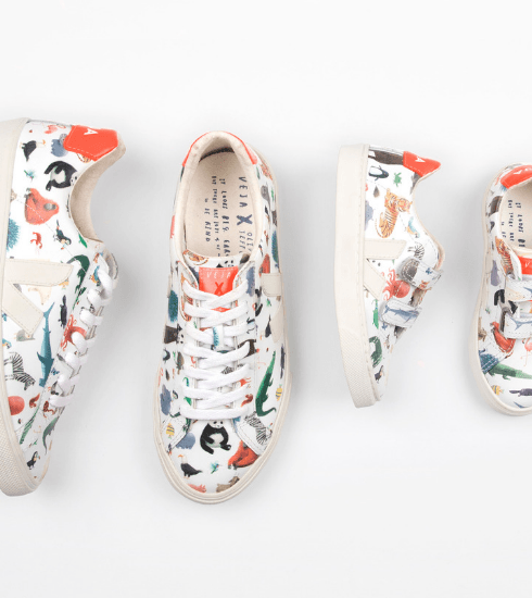 Crush of the day: la collab Veja x Oliver Jeffers annonce une rentrée sauvage