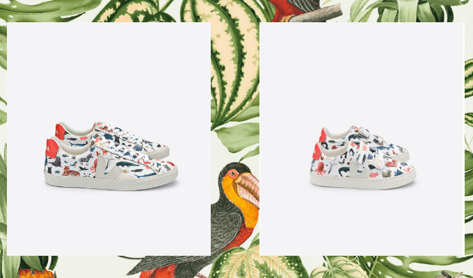 Crush of the day: la collab Veja x Oliver Jeffers annonce une rentrée sauvage 150*150