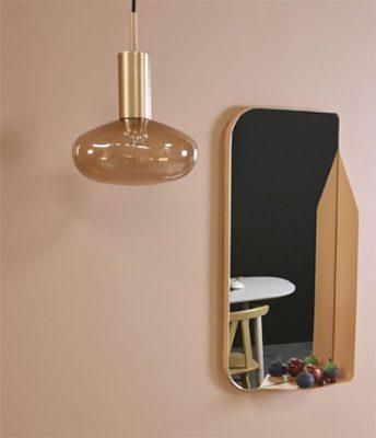 Miroir rosé Enostudio