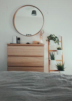 miroir chambre décoration