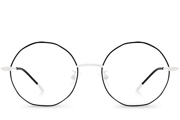 lunettes stacey silver polette