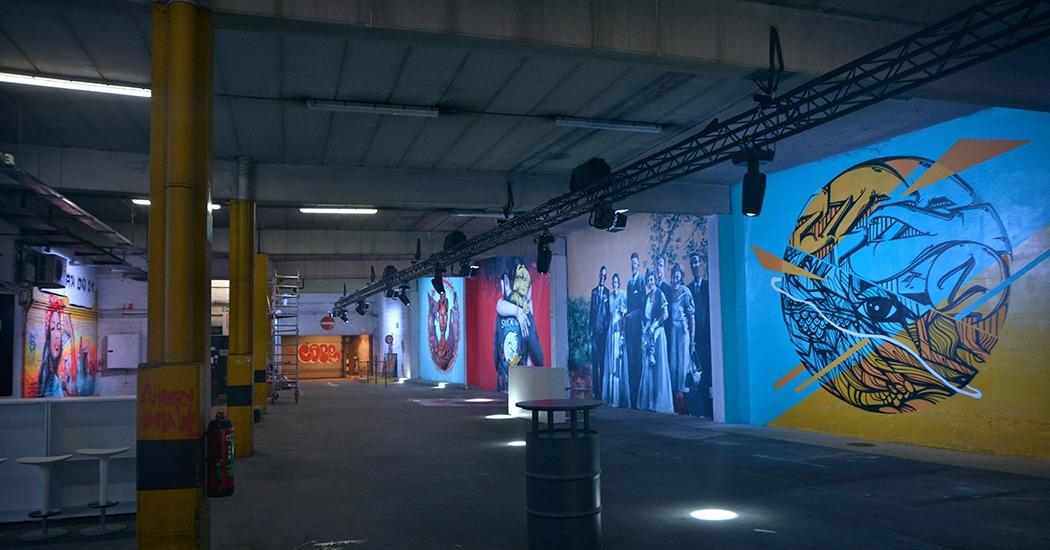 Strokar Inside : le nouveau temple du street art à Bruxelles