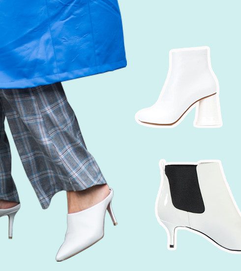 Tendance : le come-back des bottines blanches