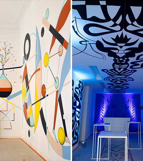 Canvas : le nouveau pop-up bar arty de Bombay Sapphire à Bruxelles