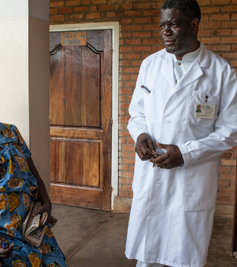 Reportage : à Panzi, chez Denis Mukwege