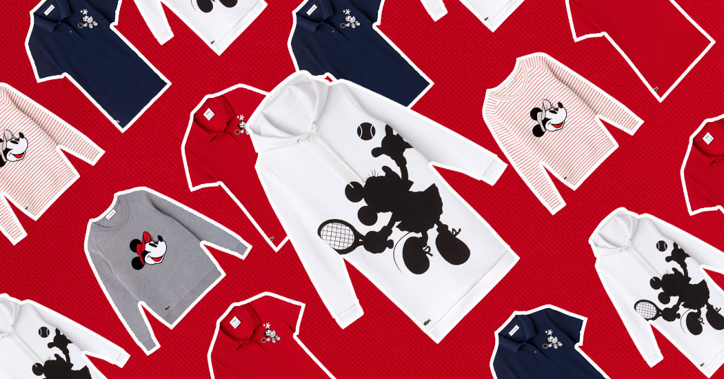 Lacoste x Disney : Mickey s'invite dans une collection capsule anniversaire