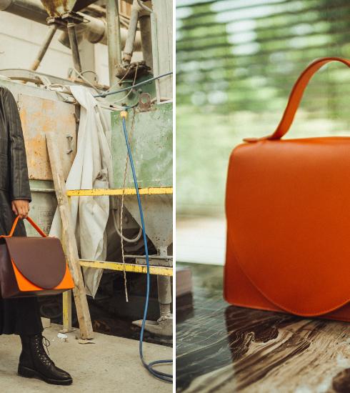 Le sac Midi Briefcase de MiekeDierckx, parfait pour la working girl