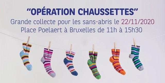 Opération Chaussettes: la collecte de vêtements pour les sans-abri à Bruxelles - 2