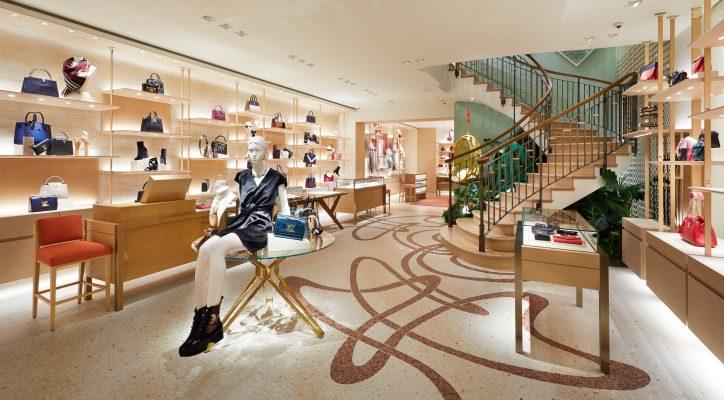 Bruxelles : immersion dans la toute nouvelle boutique Louis Vuitton 150*150