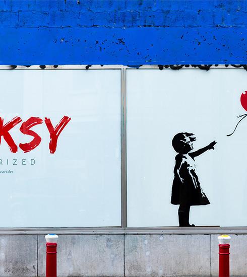 Banksy Unauthorized : l'expo polémique du maître du street art débarque à Bruxelles