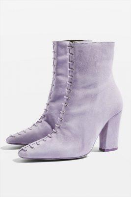 bottes à lacets topshop