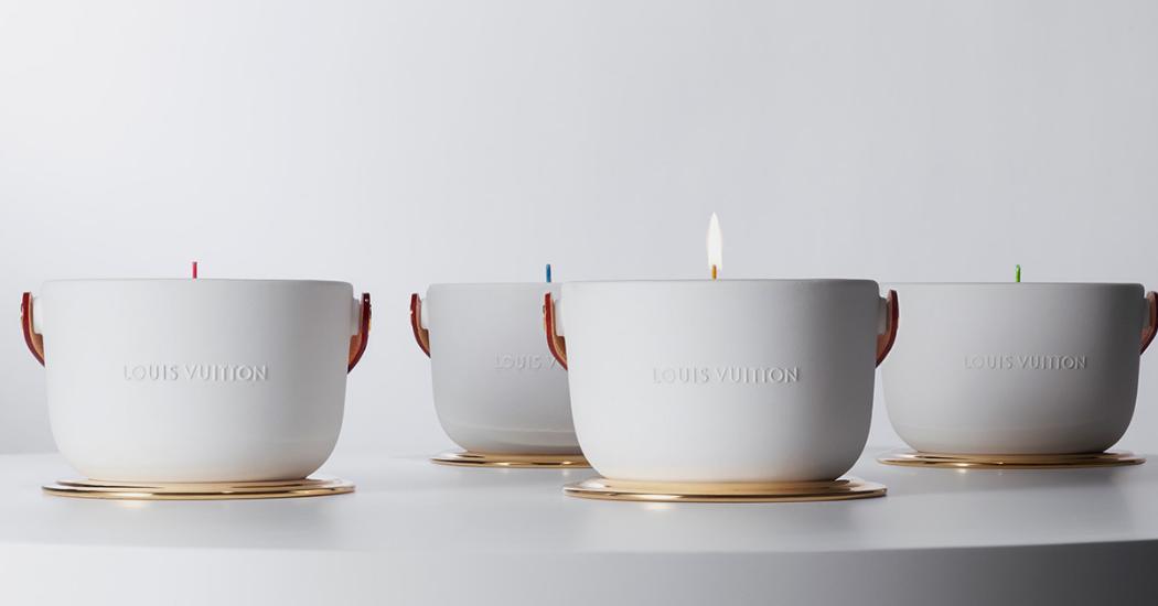 Crush of the day : les bougies parfumées Louis Vuitton