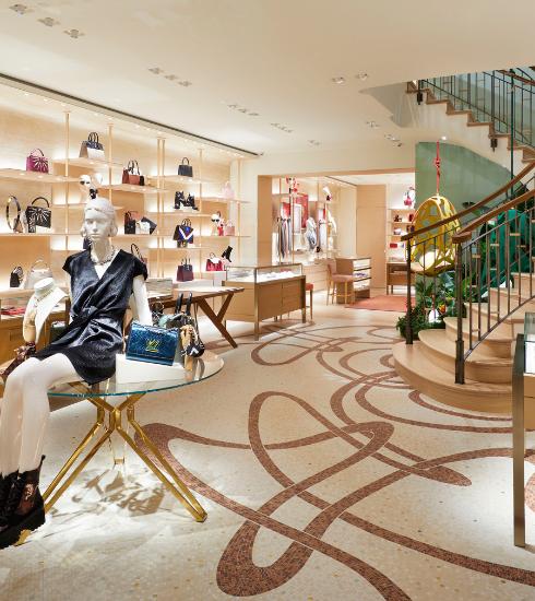 Bruxelles : immersion dans la toute nouvelle boutique Louis Vuitton