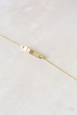 elliot & ostrich bracelet