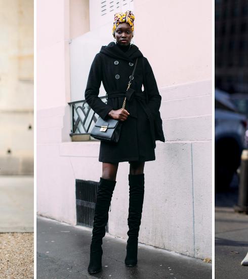 Tendance : 6 façons de porter les cuissardes cet hiver