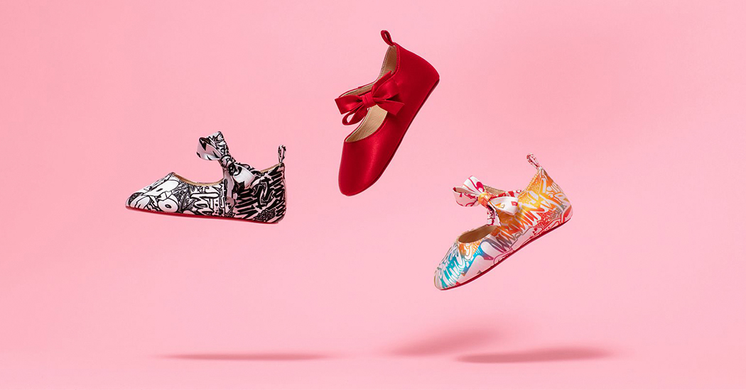 Crush of the day : la collection exclusive pour bébé signée Christian Louboutin