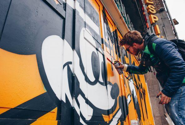 Bruxelles : Mickey s'offre un parcours de street art dans la ville pour ses 90 ans 150*150