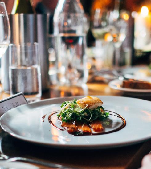 Repas de Nouvel An : notre menu 4 services accords mets-vins