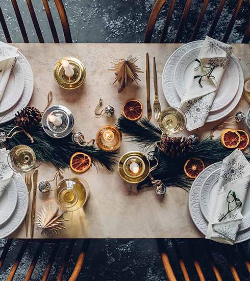 Tables de Noël : 4 ambiances à reproduire facilement chez soi