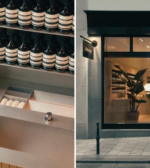 Bruxelles : à la découverte de la toute nouvelle boutique Aesop